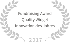 Fundraising Award Innovation of the year 2017 austrian fundraising association